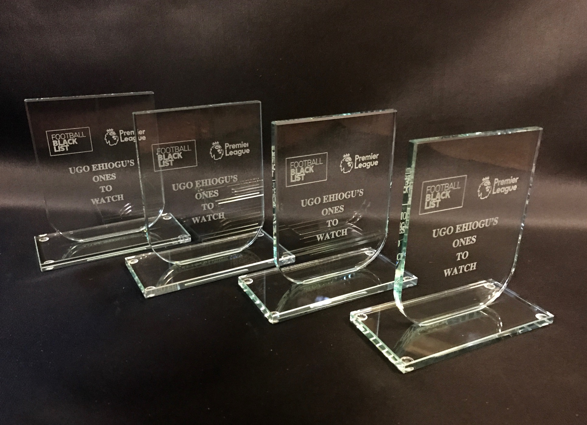 14. Football Blacklist Glass Award 1
